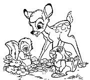 bambi i przyjaciele